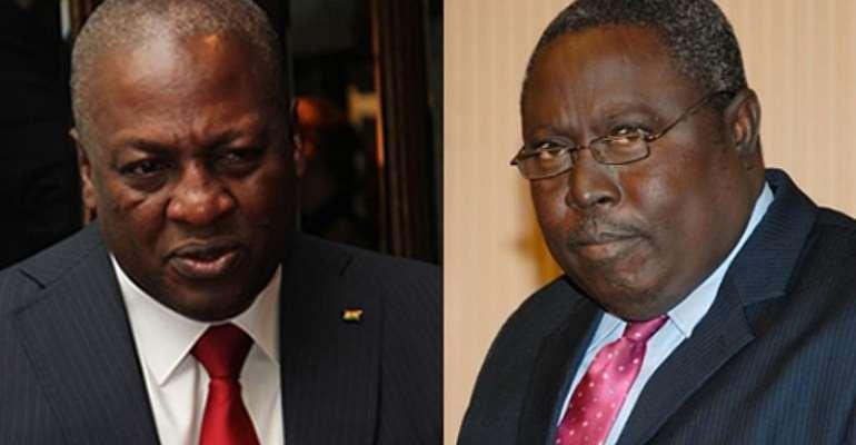 John Mahama And Martin Amidu