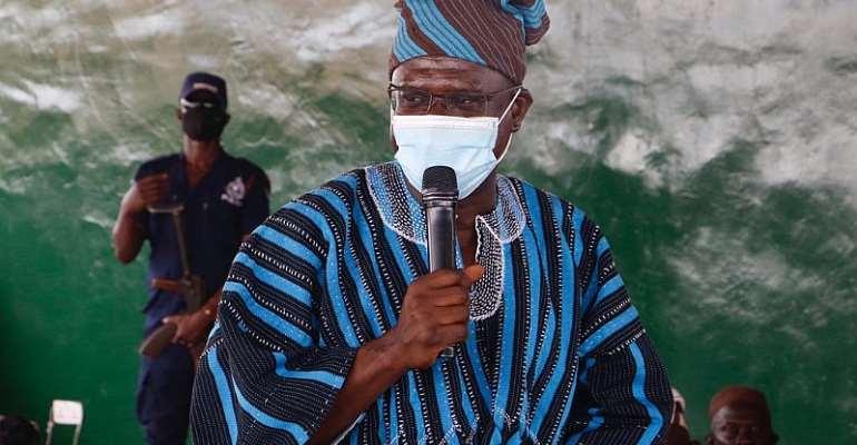 Dr Joseph Siaw-Agyepong Praises Ya-Na Abukari II For Peace In Dagbon