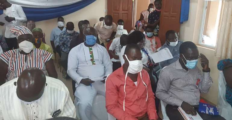 Election 2020: Deputy Central Regional Minister Tasks NPP Campaign Team