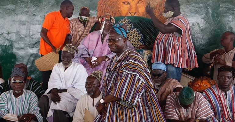 Dagbon Peace Will Bring Investors Into Northern Region---Dr Siaw-Agyepong