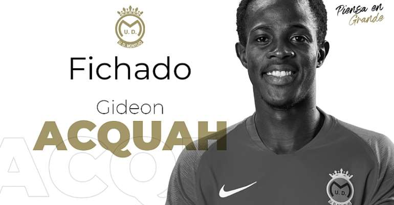 Youngster Gideon Acquah Signs For Spanish Club UD Montijo