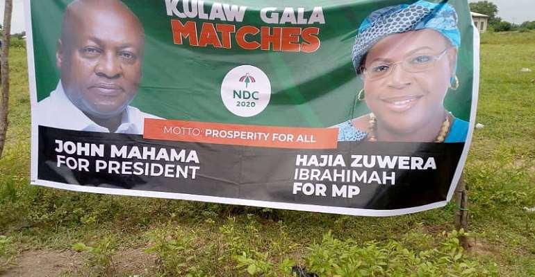 Salaga South NDC Parliamentary Candidate OrganizesKulaw Gala Match
