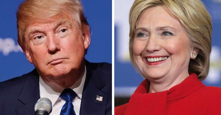 Photo Credit: By Donald Trump August 19, 2015 BU Rob13 Hillary Clinton by Gage Skidmore or CC BY-SA 4.0 via Wikimedia Commons