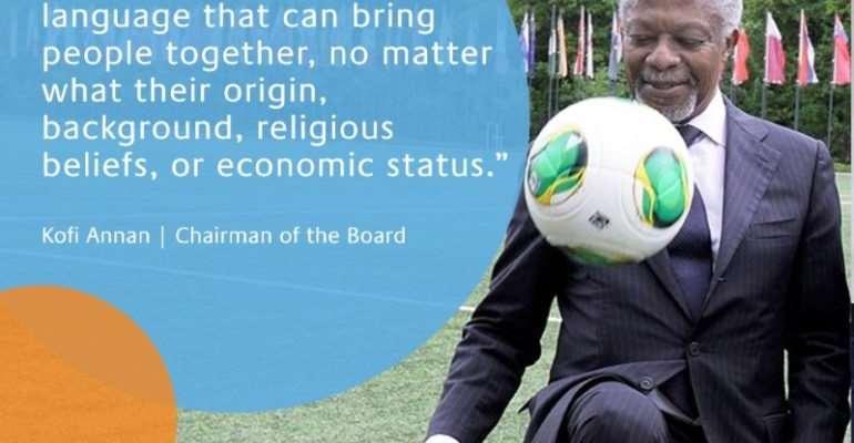 REMEMBERING KOFI ANNAN – His Love For Football