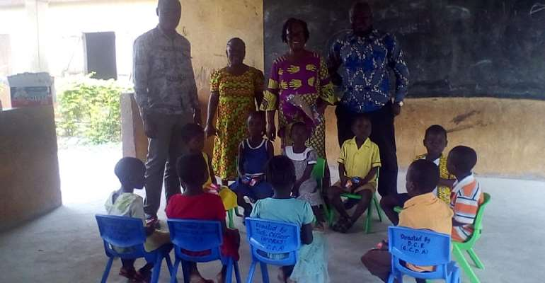 DCE bemoaned alarming poor BECE results among boys  in Gomoa Central District