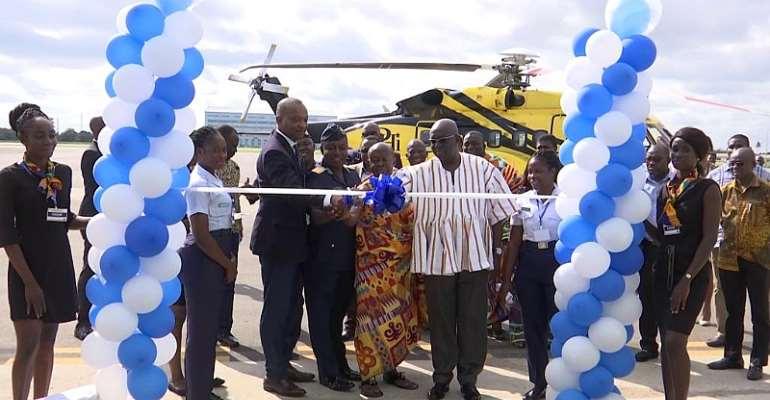 Tullow, Partners Handover Rehab Takoradi Airport Tarmac