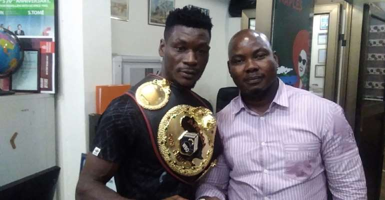GBA Wishes Allotey Success In World Title Fight