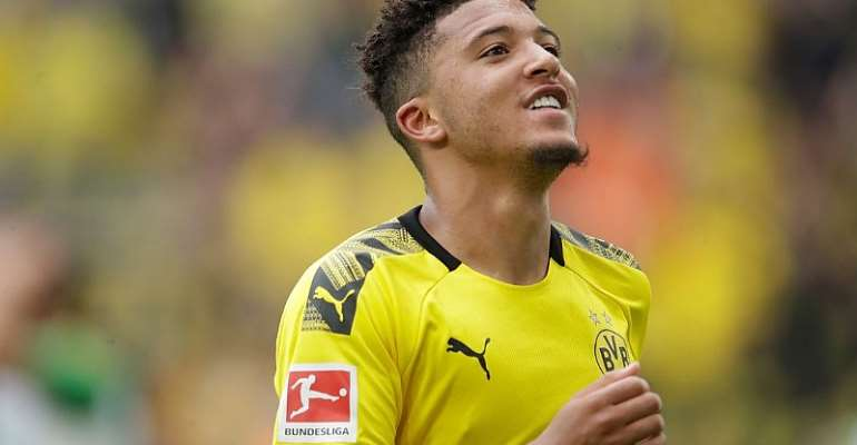 Agent Of Dortmund Star Jadon Sancho Met With Man United Officials