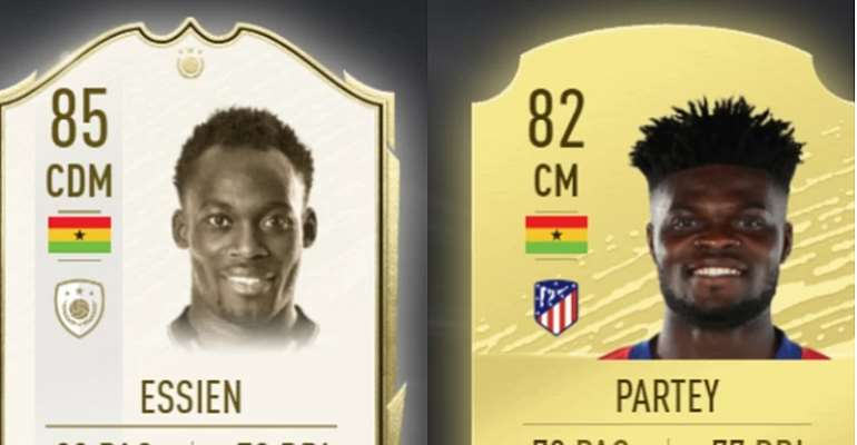 Michael Essien Ranked The Highest Ghanaian In FIFA 20 As Partey Rated Second