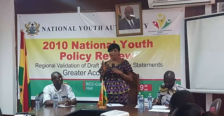 Stakeholders Validate Draft Youth Policy Statement