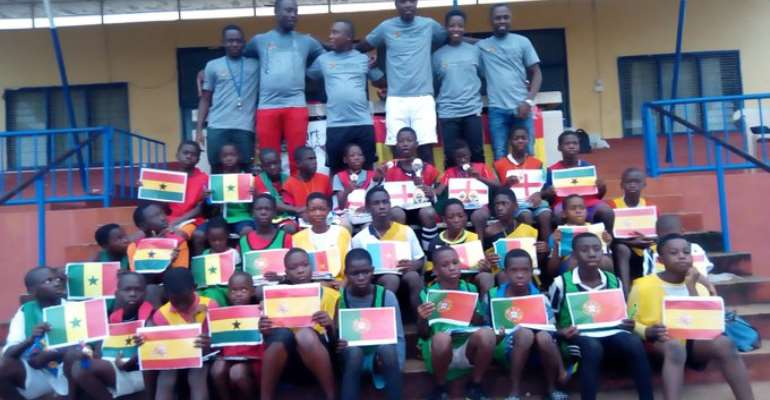 Maiden Soccer Camp For Under-12 Held In Ho