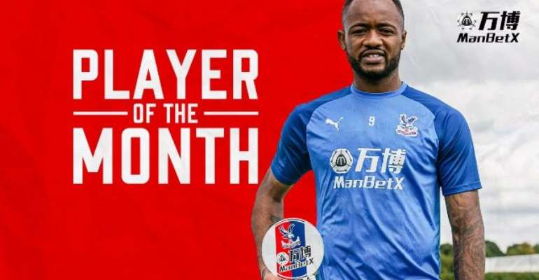 Jordan Ayew Wins Crystal Palace Player Of The Month Award For August