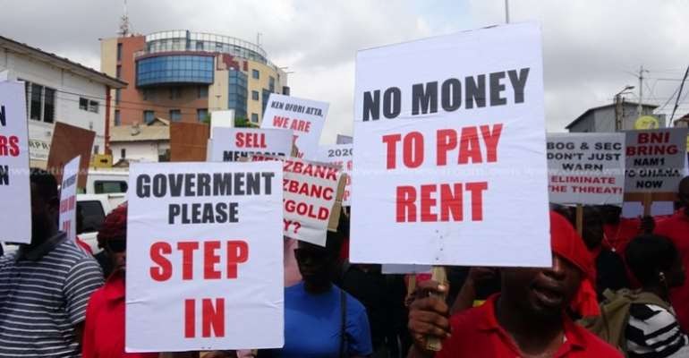 Ghana Police Stops MenzGold Protesters With Court Injunction