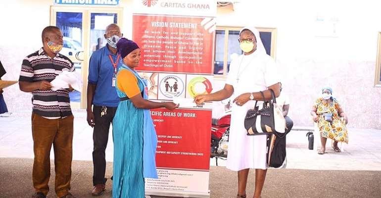International Day of Charity: Caritas Ghana's Efforts