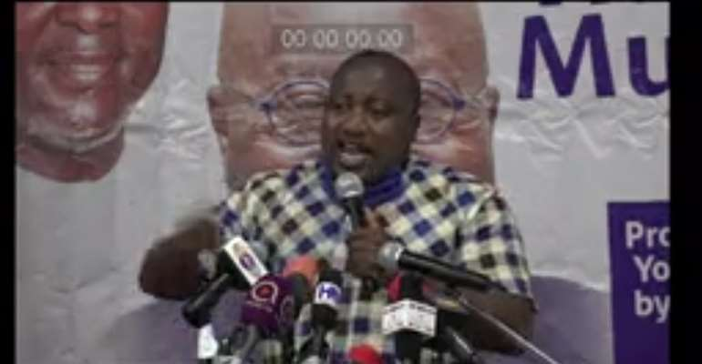 NPP National Youth Organiser, Henry Nana Boakye