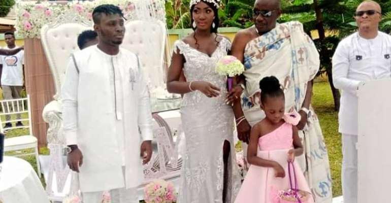 PHOTOS: Kotoko Striker William Opoku Mensah Weds Rebecca Krah