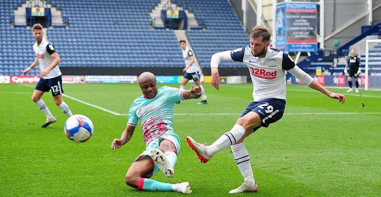 Andre Ayew Plays Full Throttle In Swansea City's 1-0 Win At Preston North End