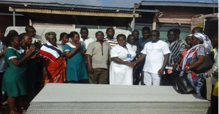 NPP's Nii Lante Bannerman Donates to Usher Polyclinic