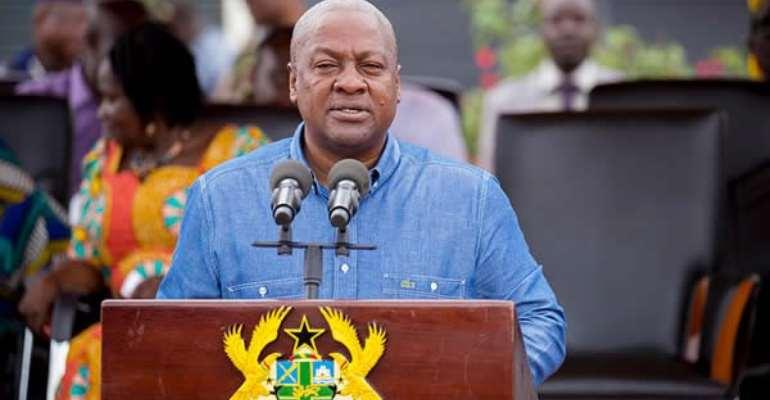 I am confident of peaceful Dec 7 polls – President Mahama