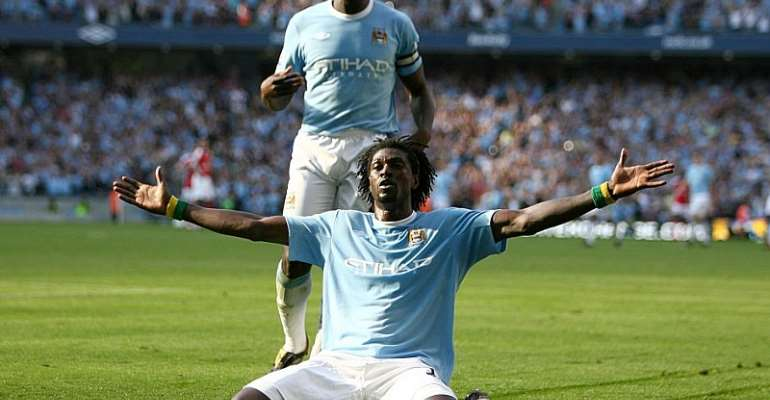The Story Of Adebayor's Famous Goal Celebration Against Arsenal