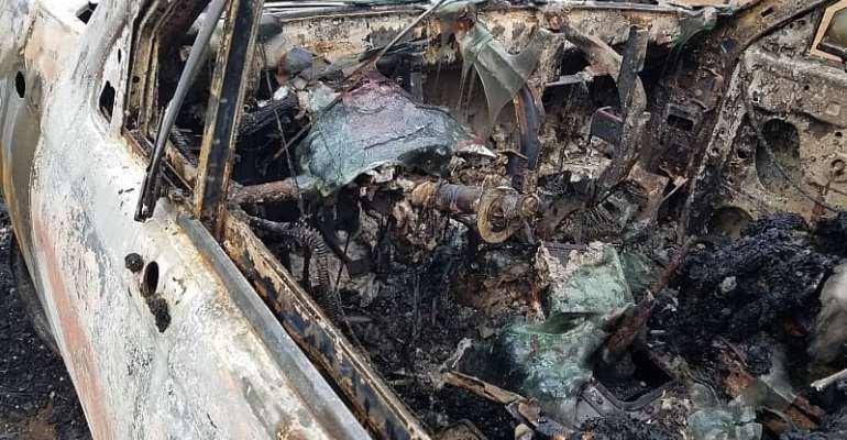 Father, Mother, Son Murdered And Set Ablaze In Ningo-Prampram