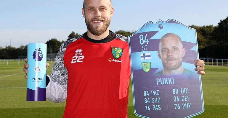 Teemu Pukki Named Premier League Player Of The Month