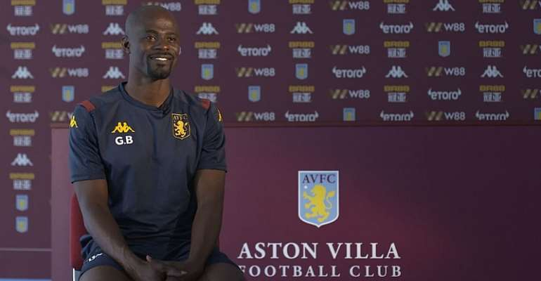 Watch George Boateng's First Interview After Aston Villa Appointment