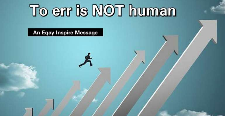To Err Is NOT Human