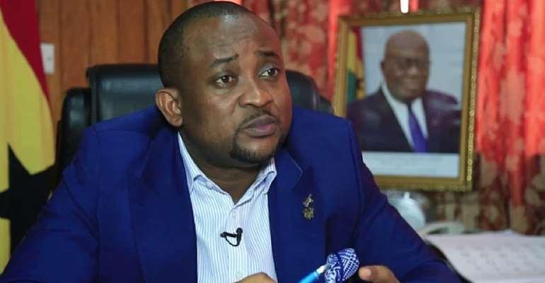 Deputy Information Minister Pius Enam Hadzide