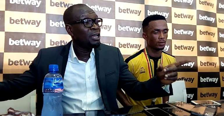 CK Akonnor Wants AshGold To Beat RS Bekane By A Huge Goal Margin