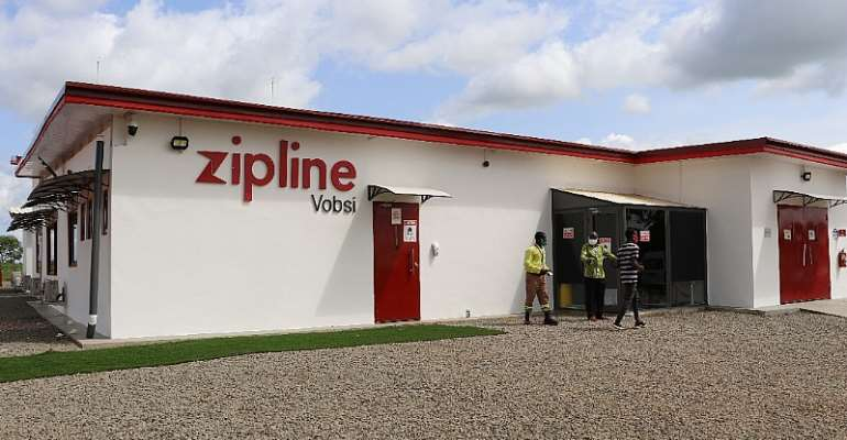 Zipline Drones Have Delivered Blood, Medical Supplies To Residents Affected By Floods