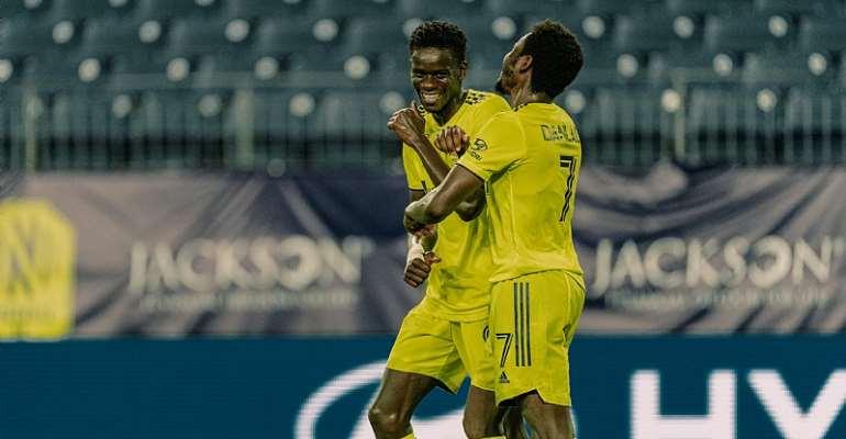 Striker Abu Danladi Scores For Nashville SC In 4-2 Win Against Atlanta United