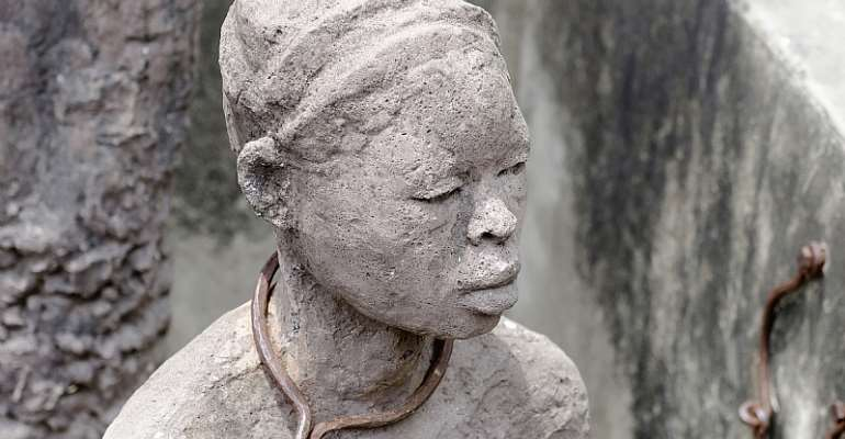 Slave memorial in Zanzibar. - Source: Eye Ubiquitous/Universal Images Group via Getty Images