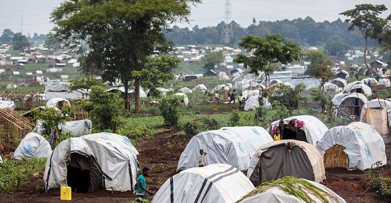 Kyangwali Refugee Settlement and Reception Centre in Uganda. - Source: Jack Taylor/Getty Images