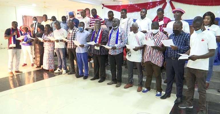 Shama NPP Inaugurates Campaign Team