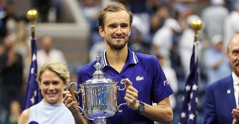 Medvedev avoided becoming the sixth men's player to lose his first three Grand Slam finals