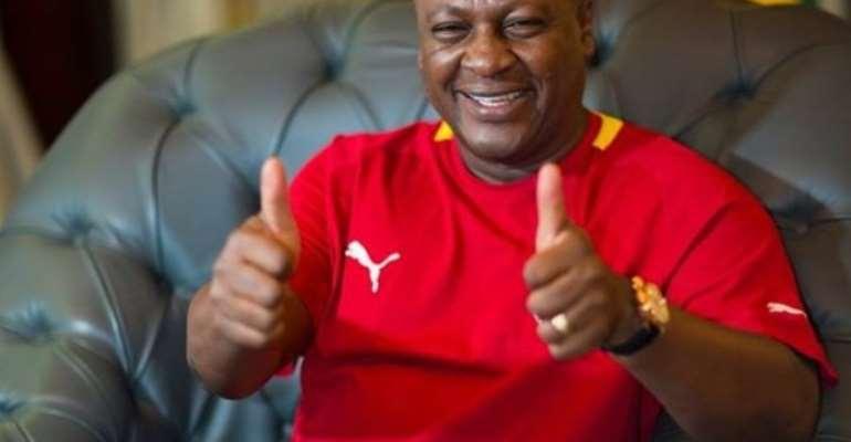 President Mahama promise five new stadia
