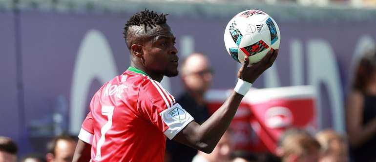 Gershon Koffie continues career-best offensive season with assist in US Open Cup final