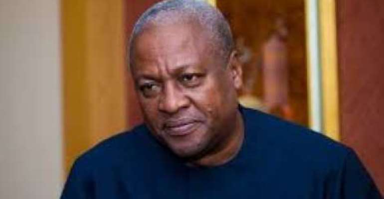2016 NDC Manifesto: President Mahama promises to construct stadia in five regions