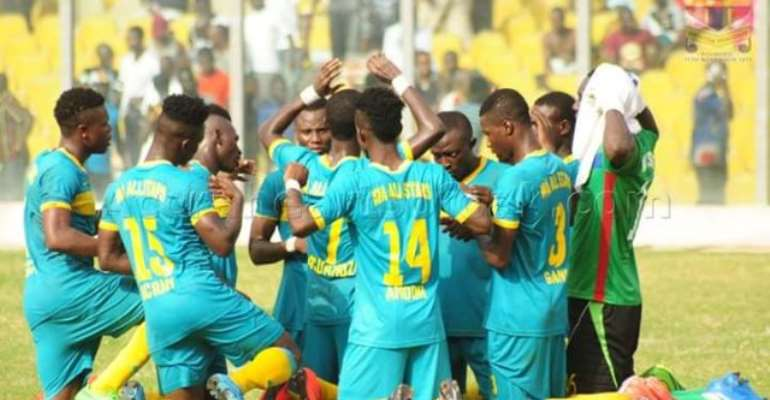 Wa All Stars win historic Ghana Premier League title