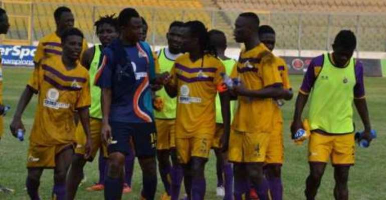 Ghana Premier League: Hearts of Oak beaten by Medeama in Accra