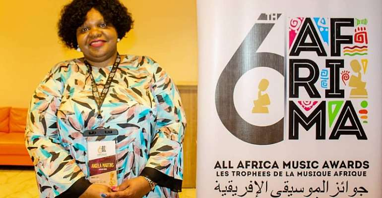 Head of Culture, African Union Commission, Angela Martins