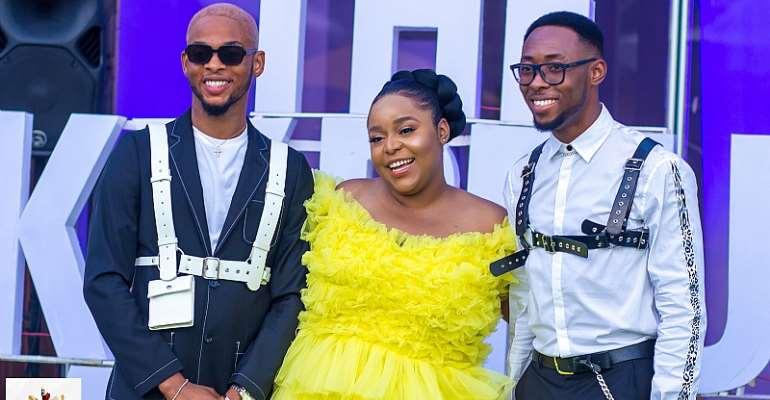 Sep Nimi Briggs, Kuku Moemeke & Efe Tommy (The Funky Brunch Lagos Team)
