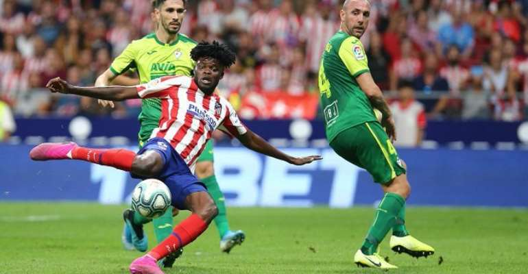 Thomas Partey To Miss Atletico Madrid's Clash With Real Sociedad Today