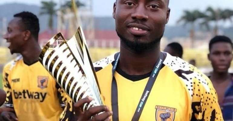 CAF CC: Ashgold Defender Eric Donkor Confident Of Victory Ahead Of RS Berkane Clash