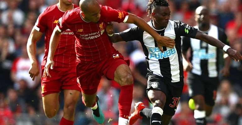 Christian Atsu Provides Assist In Newcastle's 3-1 Defeat To Liverpool At Anfield