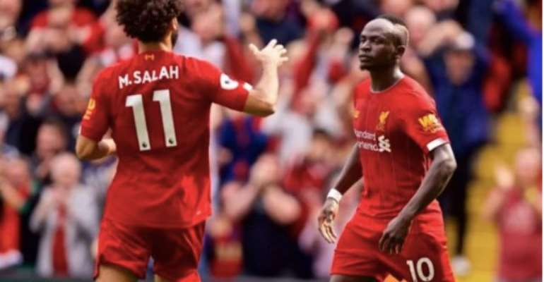 Mane And Salah On Target As Liverpool Extend Their Lead At The Top
