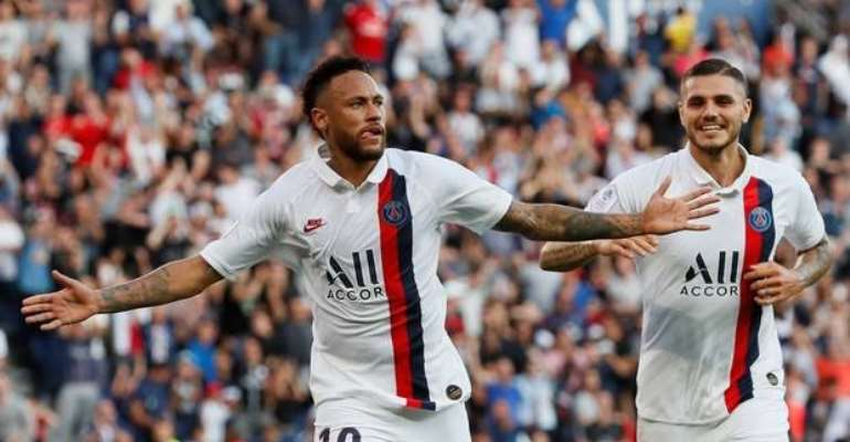 Neymar Jeered By PSG Fans But Scores Overhead-Kick To Seal Victory Over Strasbourg