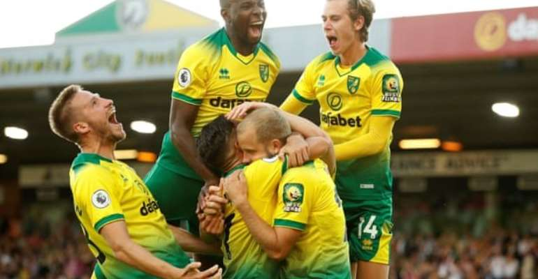 Norwich Inflict First League Defeat Since January On Man City