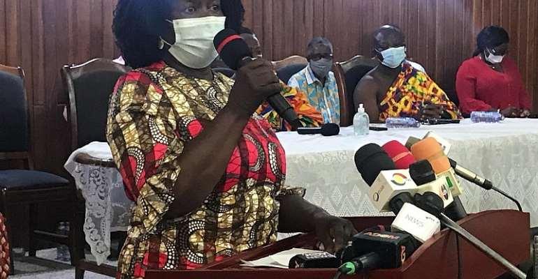 Jane Naana Breaks Down NDC Policies To Chiefs In Western Region